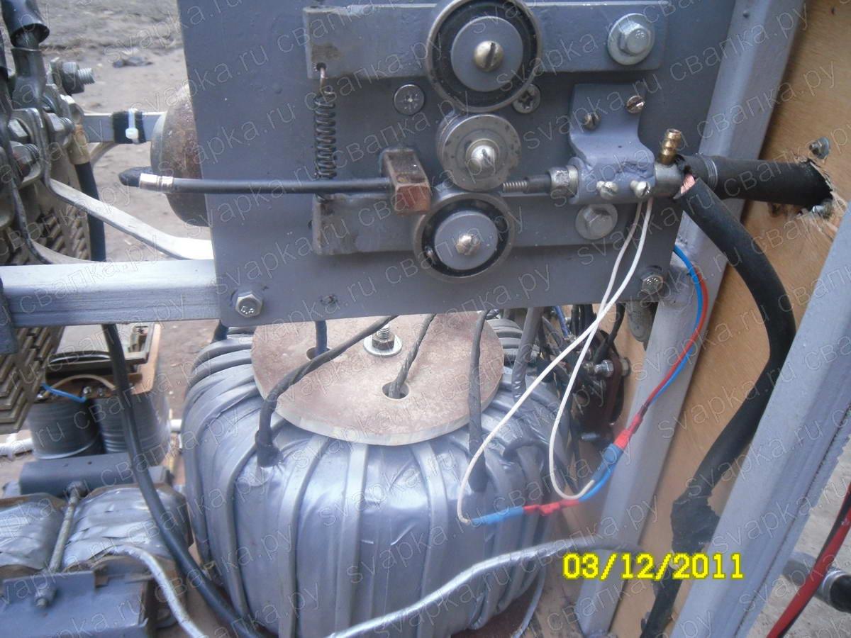Подающий механизм на полуавтомат своими руками
