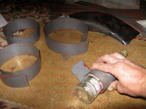 Подготовка пластин сварочного трансформатора.