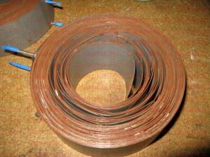 Вид второго кольца, пластины не обжаты