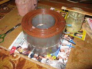 Склейка колец тора