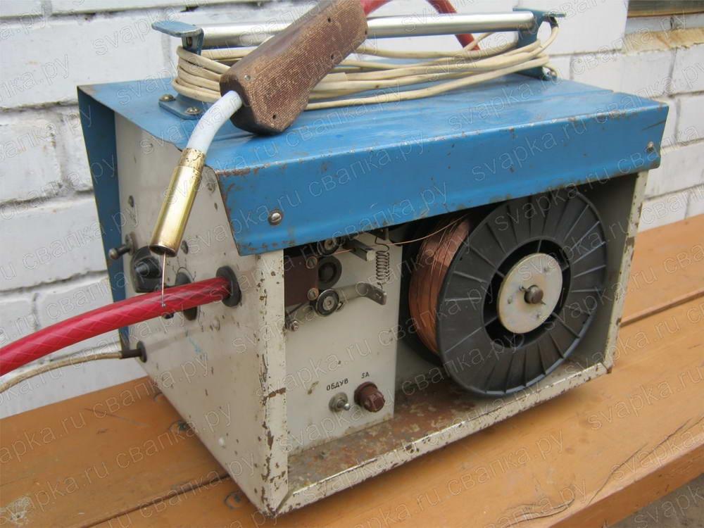 Сварочный полуавтомат из обычного сварочного аппарата