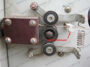 Протяжный механизм сварочного полуавтомата