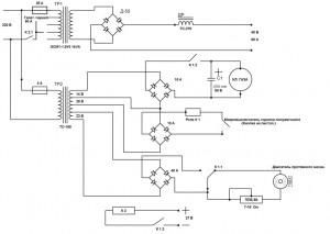 Схема простого сварочного полуавтомата