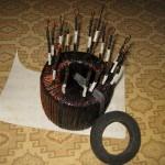 Обматываем тряпочной изолентой | Намотка сварочного трансформатора