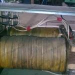 Размещение трансформатора внутри корпуса сварочного