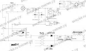 Схема сварочного полуавтомата от Владимира