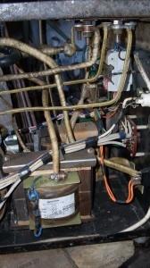 Соединительные шины сварочного полуавтомата