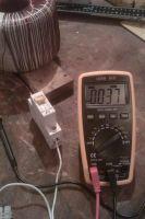 Еще одно фото измерений тока ХХ