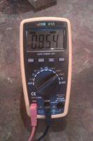 Измерение тока лампы 200 ватт